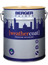 Berger Weathercoat StoneShield Matt Finish Low VOC Wall Primer