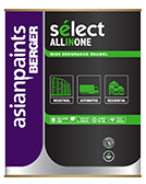 Berger Select All-in-One High Gloss Finish Metal Paint