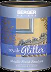 Berger Royale Glitter Metallic Finish Paint for Interior Walls