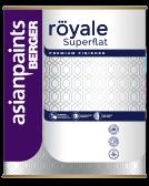 Berger Royale Superflat Matt Finish Emulsion Paint for Interior Walls