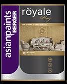 Berger Royale Play Sahara Designer Finish Interior Wall Paint