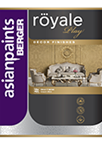 Berger Royale Play Textile Designer Finish Interior Wall Paint