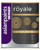 Berger Royale High Gloss Finish Enamel Paint for Metals