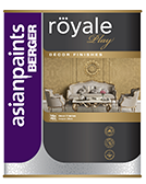 Berger Royale Play Metallic Glaze Designer Finish Interior Wall Paint