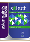 Select Eggshell Matt Finish Emulsion Paint for Interior Walls