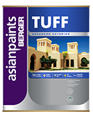 Berger TUFF Matt Finish Exterior Wall Emulsion Paint