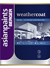 Berger Weathercoat Luxacryl High Gloss Finish Exterior Wall Paint