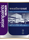 Berger Weathercoat Flex Smooth Finish Exterior Wall Paint